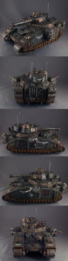 Death Korps Krieg Baneblade (Commission)