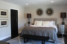 Williams Residence eclectic bedroom