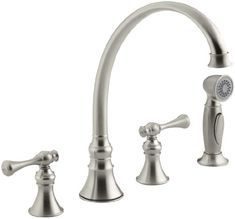 KOHLER K-16109-4A-BN Revival Kitchen Sink Faucet, Vibrant Brushed Nickel Kohler,http://www.amazon.com/dp/B000MF6YAI/ref=cm_sw_r_pi_dp_48Q0sb0TF491JREB