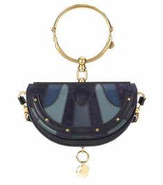 Nile Minaudière small leather shoulder bag | Chloé