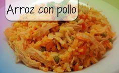 Arroz con pollo - Heerlijke rijst met kip voor 'elke dag'