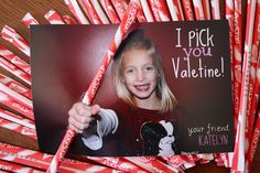Valentine Ideas using your child's photo!
