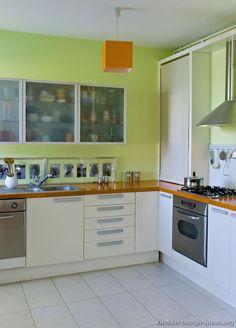 Kitchen Color Scheme with White Appliance Beautiful Modern White Kitchen Cabinets 52 Kitchen Design Ideas Kitchen Cabinets Color Combination, Kitchen Cabinet Color Schemes, Green Kitchen Cabinets, Kitchen Cabinet Design, White Cabinets, Kitchen Cabinetry, Kitchen Countertops, Layout Design, Design Ideas