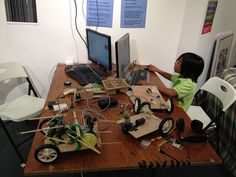 printing at a makerspace for kids Grant Writing, Robots For Kids, Digital Fabrication, Programming For Kids, Writing Services, Kids Learning, 3d Printing, Games, News