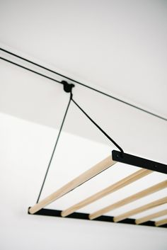New Clothes Rack Laundry Room Ceilings 28 Ideas Laundry Hanging Rack, Hanging Clothes Drying Rack, Folding Clothes Rack, Laundry Room Drying Rack, Laundry Hanger, Laundry Room Storage, Hanging Racks, Bathroom Storage, Kitchen Organization