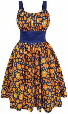 Disney Releases 2 New Dresses: Orange Bird Dress and Magic Kingdom Dress African Fashion Ankara, Latest African Fashion Dresses, African Print Dresses, African Print Fashion, Africa Fashion, African Attire, African Wear, African Women, African Dresses For Women