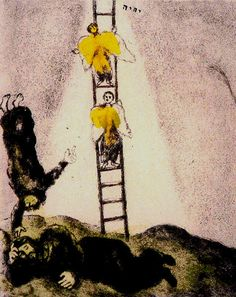 Chagall:Jacob's Ladder