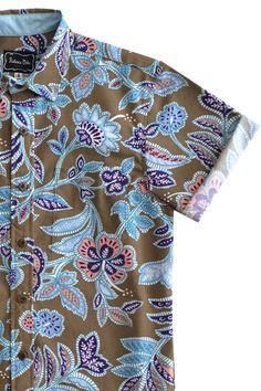 59e69df0c Old Havana Modern Man, Aloha Shirt, Havana, Button Down Shirt, Men Casual