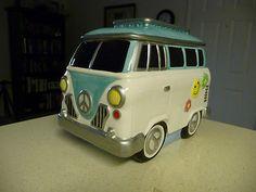 VW Bus Ceramic Cookie Jar!