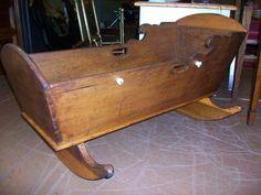 antique amish cradle   Designed for Change