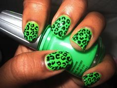 Neon and Leopard print. The base line of the perfect collection