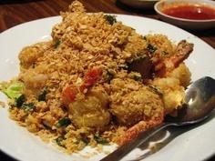 Cereal Prawns @ Jumbo Seafood Restaurant in Singapore