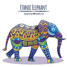 Resultado de imagen para elefantes hindues animados