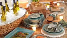How to Host a Seaside Dining Party | Pottery Barn