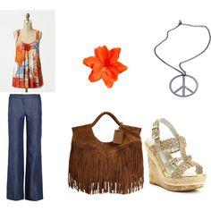 """a """"hippie chic"""" look that i created"""