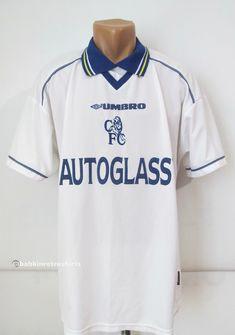 7a428a3d7620 Chelsea 1998 1999 2000 away football shirt by Umbro UK England vintage CFC  retro