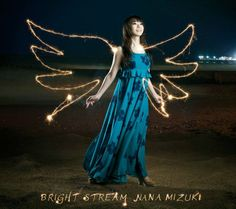 """The cover jackets have been revealed for Nana Mizuki's single """"BRIGHT STREAM"""". The single has three A-side tracks - the title track """"BRIGHT STREAM"""" is featured as the theme song for anime 2010s Fashion, Pop Fashion, Theme Song, Photo Poses, Season 2, Dog Days, Bright, Actresses, Disney Princess"""