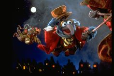Part of the annual Holiday Film Series & Canned Food Drive! The Muppets perform the classic Dickens holiday tale, with Kermit the Frog taking on the role of Bob Cratchit, the put-upon emplo… Christmas Movies, All Things Christmas, Christmas Time, Merry Christmas, Muppets Christmas, The Muppet Christmas Carol, Family Christmas, Holiday Fun, Disney Comebacks