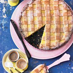"""Crostata al Limone - Zitronentarte - """"Die italienische Variante der französischen Zitronentarte wird traditionellerweise gern als Dessert serviert. Wir finden, sie schmeckt immer! Erst Recht zu Kaffee oder Tee an einem gemütlichen Nachmittag."""""""