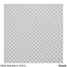 Fabric: Grey Dots