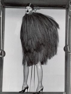 E = MC2 Dazed & Confused, April 1998 ph. Steven Klein fashion editor: Katy England hair: Nicholas Jurnjack make-up: Marc Carrasquillo models: Sunniva Stordal, Karen Elson, Rosemary Ferguson