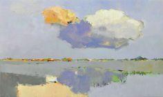 Paarse wolk Jan Groenhart
