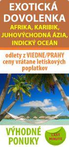 Exotická dovolenka - ponuka