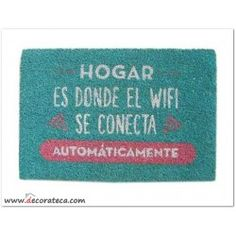 "Felpudo ""Wifi"""