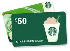 Enter to Win a $50 Starbucks Gift Card - Ends Apr 22nd at Midnight