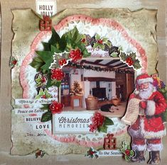 """<p>Hi,+Today+I'm+bringing+you+this+festive+layout+using+the+Silent+Night+Kaisercraft+Collection.+First+I+took+a+sheet+of+Kraft+Card+and+lightly+'swiped'+white+and+gold+acrylic+paints+gently+across+the+page+to+alter+the+'flatness'+of+it.+I+then+gutted+an+8″+square+from+it+to+use+<a+href=""""+http://www.merlyimpressions.co.uk/blog/project-portfolio/scrapbooking/silent-night-christmas-scrapbook-layout/+"""">+…click+to+read+more</a></p>"""