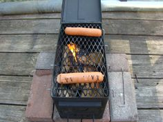 Ammo box grill Iron Horse Coatings would coat it in High Temp and it will last forever!