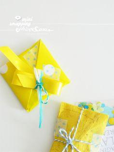 mini yellow wrapping - Bohèmecircus