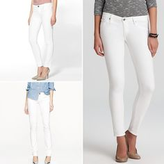 Rank & Style | Top Ten Fashion and Beauty Lists - White Skinny Jeans