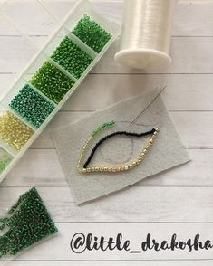 Bead Embroidery Tutorial, Bead Embroidery Jewelry, Beaded Embroidery, Hand Embroidery, Handmade Beaded Jewelry, Brooches Handmade, Beaded Earrings Patterns, Beading Patterns, Bead Crafts