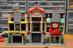 I am imagining my home filled with Lego creations. I bet plastic is not fattening.