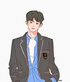 Jackson Life, Mark Nct, Strip, Korean Art, The Little Prince, Kpop Fanart, K Idols, Nct Dream, Nct 127