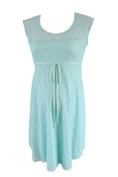 Lace Dress in Mint CUTE Maternity Dresses from www.flybelly.com  Perfect for baby shower, wedding, special occasion!  Pregnancy CLOTHES!  www.flybelly.com  Just $39!