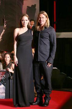 Angelina Jolie Stuns In Saint Laurent For 'World War Z' Tokyo Premiere