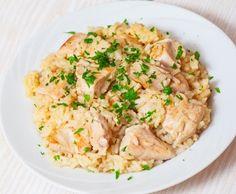 Risotto de pollo - Cocina - REVISTA PRONTO - www.pronto.com.ar