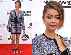 Sarah Hyland looks gorgeous in this 2 piece number!