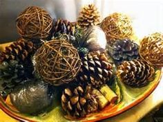 Image Search Results for pine cone decorations
