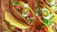 White Chili Turkey Tacos Recipe