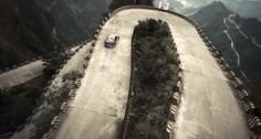 Those barriers don't look like they would stop a car driving at speed from rolling over the edge!  http://www.visiontimes.com/2015/03/11/red-bull-drift-challenge-2-drivers-and-99-corners-of-awesomeness-videos.html