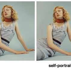 Hair stylist Daniel Martin and makeup artist Thomas De Kluyver for Self Portrait Resort '16. #hair #makeup #selfportrait @danielmartin81 @thomasdekluyver