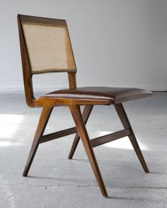 Carlo Hauner, Brazil, Set of six chairs in jacaranda with cane seat and back. Designed by Carlo Hauner and Martin Eisler for Forma. Deck Furniture, Vintage Furniture, Modern Furniture, Furniture Design, Furniture Stores, Rustic Furniture, Furniture Upholstery, Chest Furniture, Dining Chairs