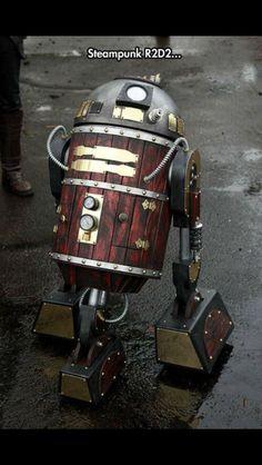 R2d2 steampunk