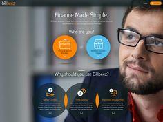 Billbeez / Finance Made Simple. / The Website :) by INKOD HYPERA Ltd.