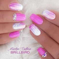 Are you looking for the latest and the most popular nails design ,acrylic nails ,fall nails,nails for summer,nails desig Popular Nail Designs, Pink Nail Designs, Acrylic Nail Designs, Nails Design, Acrylic Nails, Fingernail Designs, Fancy Nails, Cute Nails, My Nails
