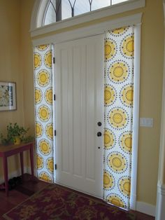 1000 images about roman shade inspiration on pinterest for Side door window coverings
