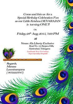 Ideas birthday invitations card happy for 2019 Naming Ceremony Invitation, Wedding Invitations, First Birthday Invitation Cards, Krishna Birthday, Birthday Party Themes, Birthday Crafts, Cake Birthday, 16th Birthday, Sweet 16